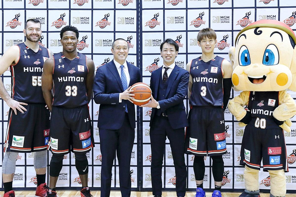 プロバスケットボールチーム「大阪エヴェッサ」